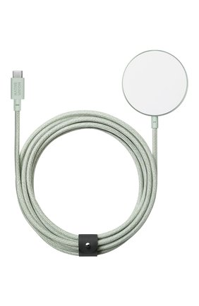 Магнитный кабель snap cable magsafe/usb-c, 3m NATIVE UNION светло-зеленого цвета, арт. SNAP-WL-GRN | Фото 1