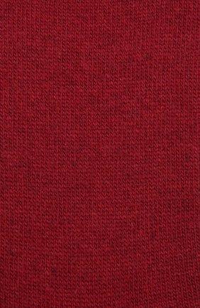 Женские носки FALKE красного цвета, арт. 47548   Фото 2 (Материал внешний: Шерсть)