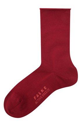Женские носки FALKE красного цвета, арт. 46125   Фото 1 (Материал внешний: Синтетический материал, Лиоцелл)