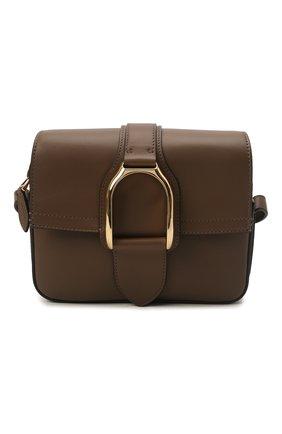 Женская сумка welington RALPH LAUREN коричневого цвета, арт. 435867741 | Фото 1 (Ремень/цепочка: На ремешке; Материал: Натуральная кожа; Размер: mini; Сумки-технические: Сумки через плечо)