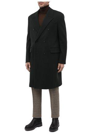 Мужские кожаные челси GIUSEPPE ZANOTTI DESIGN черного цвета, арт. IU10026/001 | Фото 2 (Подошва: Массивная; Материал внутренний: Натуральная кожа; Мужское Кросс-КТ: Сапоги-обувь, Челси-обувь)