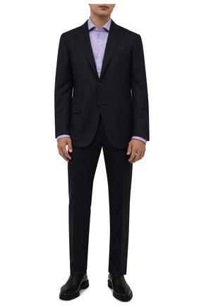 Мужские кожаные оксфорды midyal BALLY черного цвета, арт. MIDYAL/00 | Фото 2 (Материал внутренний: Натуральная кожа; Стили: Классический)