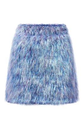 Женская юбка DOLCE & GABBANA разноцветного цвета, арт. FXE86T/JCM07 | Фото 1 (Материал внешний: Шерсть; Длина Ж (юбки, платья, шорты): Мини; Стили: Гламурный; Кросс-КТ: Трикотаж)