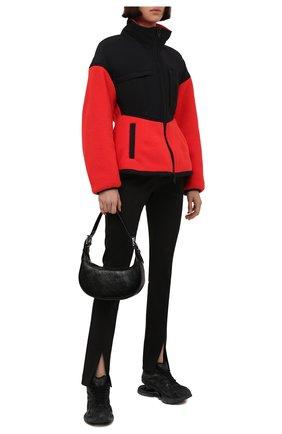 Женские комбинированные кроссовки x-pander BALENCIAGA черного цвета, арт. 653870/W2RA2 | Фото 2 (Материал внешний: Текстиль; Материал внутренний: Текстиль; Подошва: Массивная)