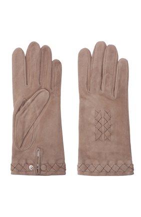 Замшевые перчатки | Фото №2