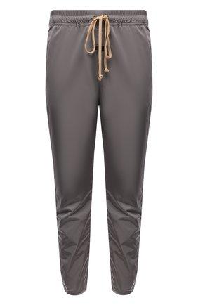 Мужские джоггеры FEAR OF GOD светло-серого цвета, арт. FG40-013SNL/M   Фото 1 (Материал внешний: Синтетический материал; Длина (брюки, джинсы): Стандартные; Материал подклада: Хлопок; Стили: Спорт-шик; Силуэт М (брюки): Джоггеры)