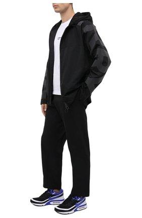 Мужские комбинированные кроссовки air max bw og NIKELAB черного цвета, арт. DJ6124-001 | Фото 2 (Подошва: Массивная; Материал внешний: Текстиль; Материал внутренний: Текстиль; Стили: Спорт)
