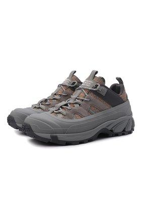 Мужские комбинированные кроссовки arthur BURBERRY серого цвета, арт. 8043864 | Фото 1 (Материал внешний: Текстиль; Материал внутренний: Текстиль, Натуральная кожа; Подошва: Массивная; Стили: Гранж)
