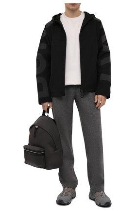 Мужские комбинированные кроссовки arthur BURBERRY серого цвета, арт. 8043864 | Фото 2 (Материал внешний: Текстиль; Материал внутренний: Текстиль, Натуральная кожа; Подошва: Массивная; Стили: Гранж)