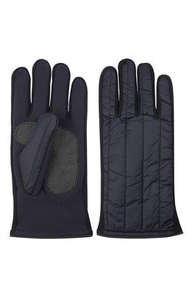 Мужские утепленные перчатки PAUL&SHARK темно-синего цвета, арт. 11317201/H1U | Фото 2 (Материал: Текстиль, Синтетический материал; Кросс-КТ: Пуховик)
