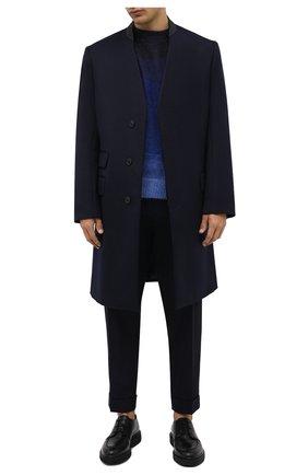 Мужские кожаные дерби RARE черного цвета, арт. RU3259/TUCS0N   Фото 2 (Материал внутренний: Натуральная кожа; Стили: Классический)