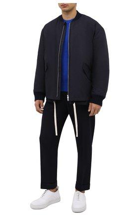 Мужские кожаные кеды RARE белого цвета, арт. RU0038/GUMMY   Фото 2 (Материал внутренний: Натуральная кожа; Подошва: Массивная)
