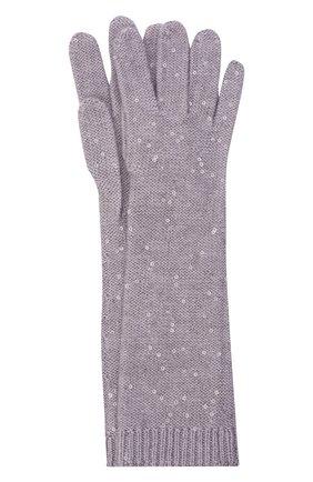 Перчатки из кашемира и шелка | Фото №1