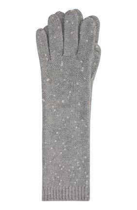 Перчатки из кашемира и шелка | Фото №2