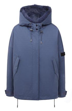Куртка с меховой подкладкой   Фото №1