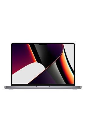 """MacBook Pro 14"""" (M1 Pro, 2021) (10C CPU, 16C GPU, 16GB Unified Memory), 1 TB Space Grey   Фото №1"""