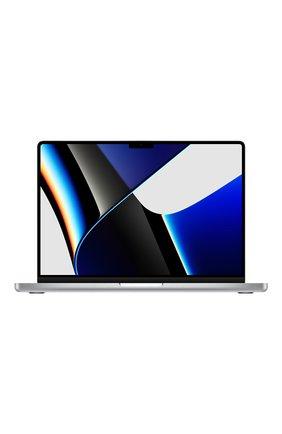 """MacBook Pro 14"""" (M1 Pro, 2021) (8C CPU, 14C GPU, 16GB Unified Memory), 512 GB Silver   Фото №1"""