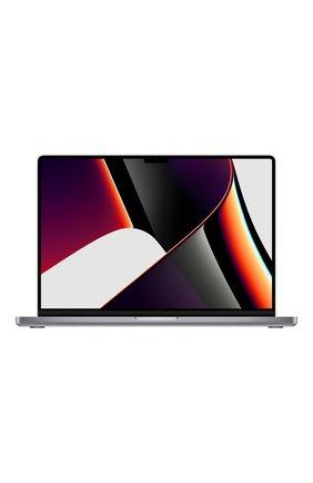 """MacBook Pro 16"""" (M1 Pro, 2021) (10C CPU, 16C GPU, 16GB Unified Memory), 1 TB Space Grey   Фото №1"""