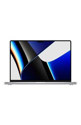 """MacBook Pro 16"""" (M1 Pro, 2021) (10C CPU, 16C GPU, 16GB Unified Memory), 1 TB Silver   Фото №1"""