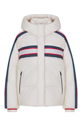 Пуховая куртка с капюшоном DiorAlps   Фото №1