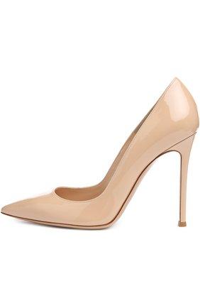 Лаковые туфли Gianvito 105 на шпильке | Фото №1