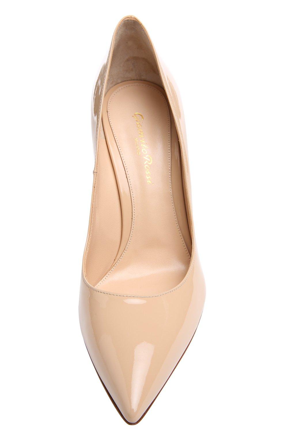 Лаковые туфли Gianvito 105 на шпильке | Фото №4