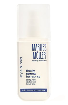 Лак для волос суперсильной фиксации  MARLIES MOLLER бесцветного цвета, арт. 25673MMs   Фото 1