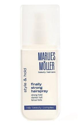 Лак для волос суперсильной фиксации  Marlies Moller   Фото №1