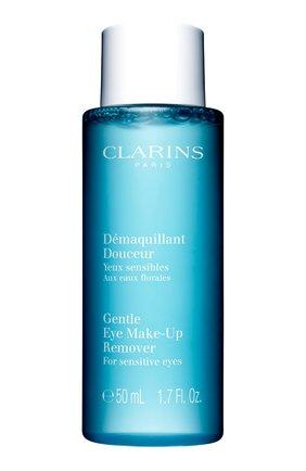 Смягчающий лосьон для удаления макияжа с глаз CLARINS бесцветного цвета, арт. 1182100   Фото 1