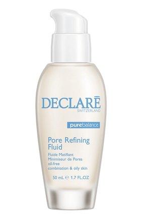 Женское интенсивное средство, нормализующее жирность кожи sebum reducing & pore refining fluid DECLARE бесцветного цвета, арт. 533 | Фото 1