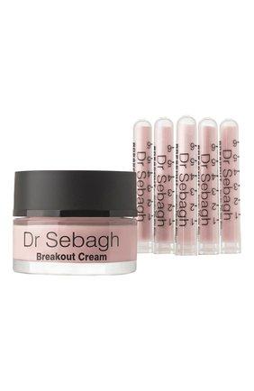 Комплекс для жирной кожи и кожи с акне Breakout. Antibacterial Powder + Breakout Cream | Фото №1