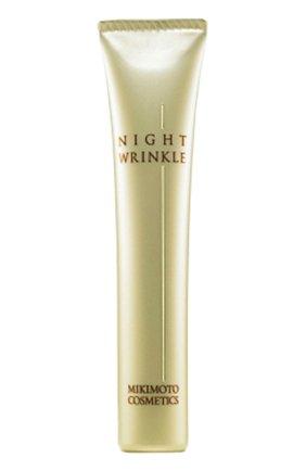 Ночная эмульсия для лица против морщин Night Wrinkle N Mikimoto Cosmetics | Фото №1