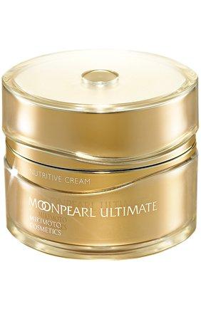Питательный ночнойКрем для лица Moonpearl Ultimate Nutritive Cream Mikimoto Cosmetics | Фото №1
