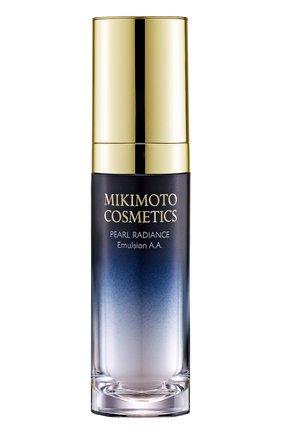 Эмульсия жемчужная для сияния кожи лица Pearl Radiance Emulsion A.A. Mikimoto Cosmetics | Фото №1