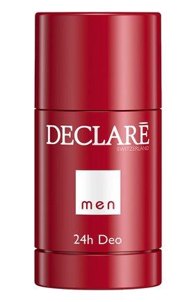 Мужской дезодорант для мужчин men 24h deo DECLARE бесцветного цвета, арт. 427 | Фото 1