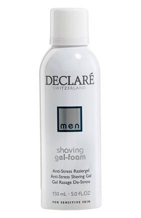 Мужская пенка-гель для бритья shaving gel-foam antistress DECLARE бесцветного цвета, арт. 587 | Фото 1