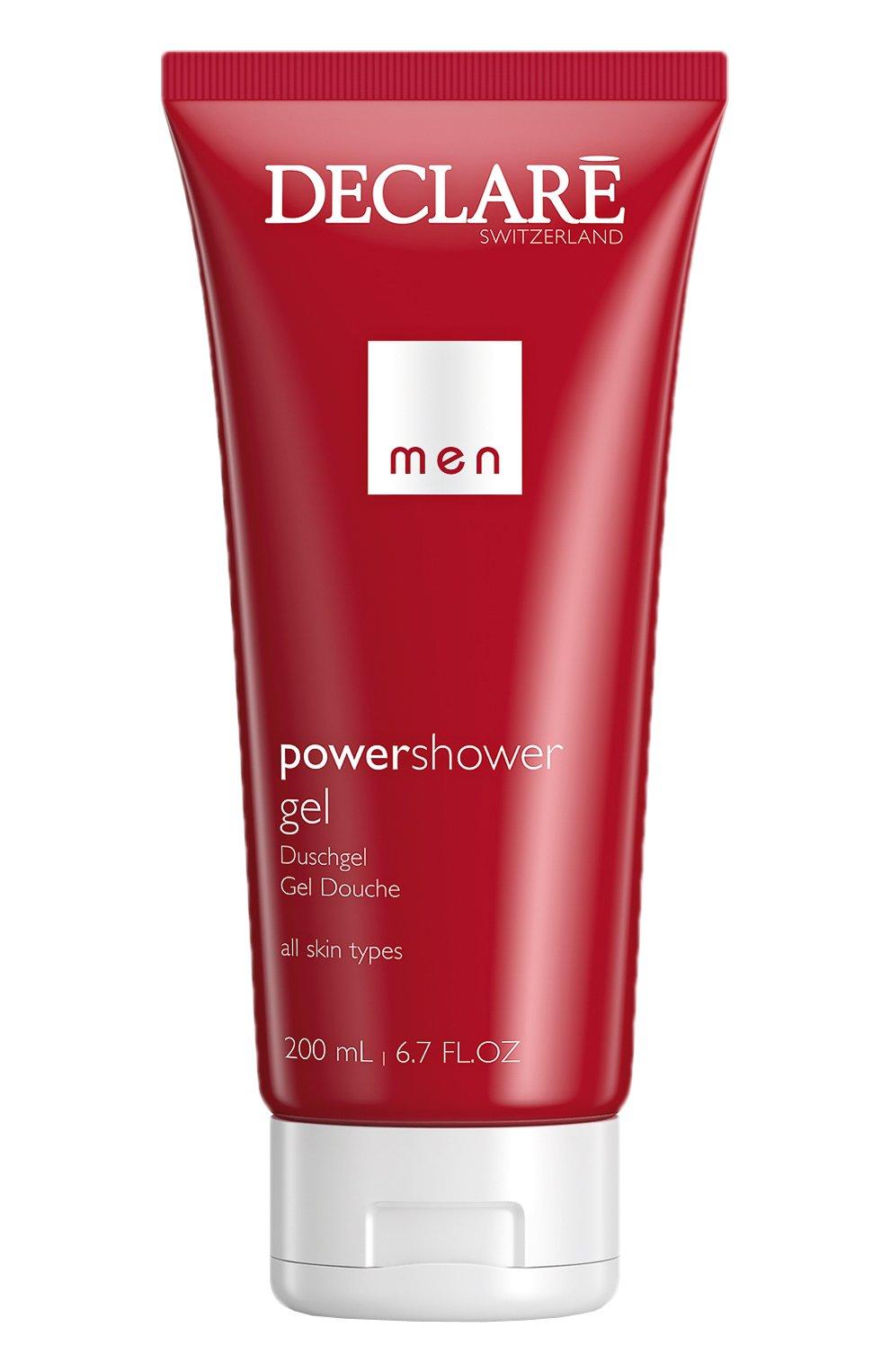 Мужского гель для душа power shower gel DECLARE бесцветного цвета, арт. 426 | Фото 1