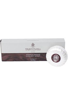Мужского набор мыло для бритья sandalwood TRUEFITT&HILL бесцветного цвета, арт. 555 | Фото 1