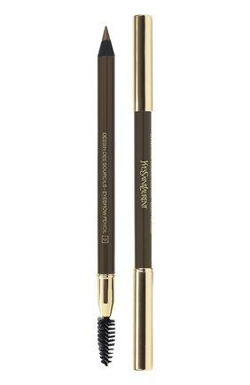 Женский dessin des sourcils карандаш для бровей 03 glazet brown YSL бесцветного цвета, арт. 3365440023147 | Фото 1
