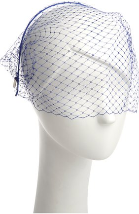 Ободок для волос Jennifer Behr синего цвета   Фото №1