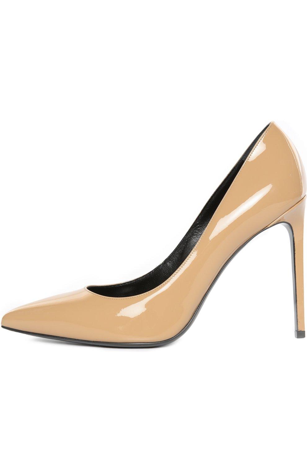 Лаковые туфли Paris Skinny на шпильке | Фото №1