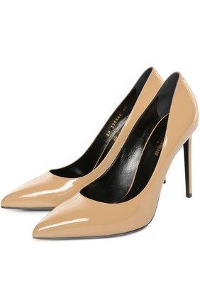 Лаковые туфли Paris Skinny на шпильке | Фото №2