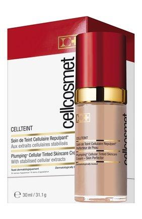 Женское клеточный крем с тональным эффектом cellteint 02 CELLCOSMET&CELLMEN бесцветного цвета, арт. 2113_1404 | Фото 2