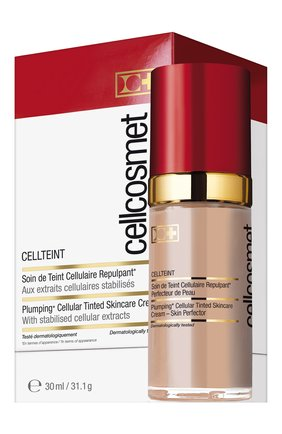 Женское клеточный крем с тональным эффектом cellteint 03 CELLCOSMET&CELLMEN бесцветного цвета, арт. 2113_1405 | Фото 2