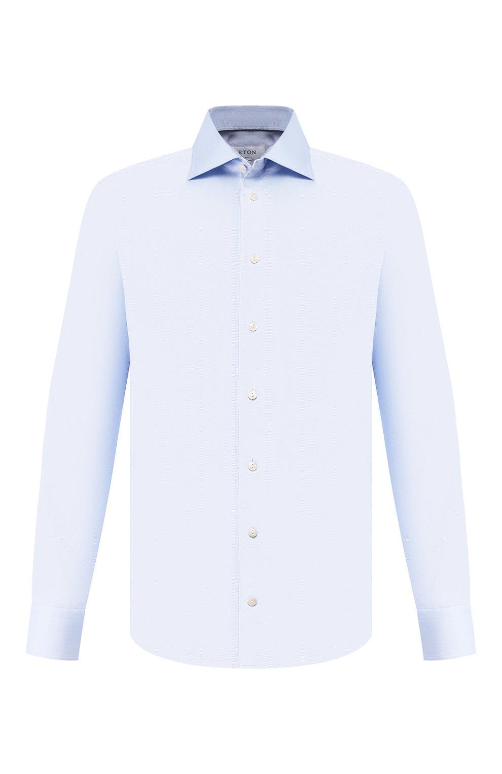 Мужская хлопковая сорочка ETON голубого цвета, арт. 3100 79511 | Фото 1