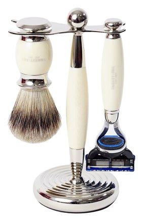 Мужская станок для бритья с кистью и лезвием fusion TRUEFITT&HILL бесцветного цвета, арт. 353 | Фото 1