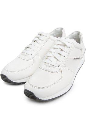 Кожаные кроссовки Alison  | Фото №2