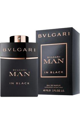 Мужской парфюмерная вода bvlgari man in black BVLGARI бесцветного цвета, арт. 97106BVL | Фото 2