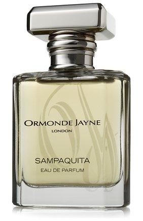 Парфюмерная вода sampaquita  ORMONDE JAYNE бесцветного цвета, арт. 5060238280020 | Фото 1