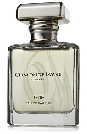 Парфюмерная вода ta`if ORMONDE JAYNE бесцветного цвета, арт. 5060238280044 | Фото 1